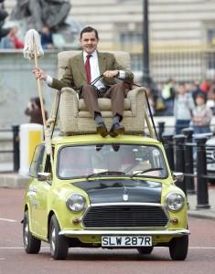 Mr Bean banner